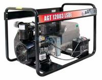 Бензиновый трехфазный генератор AGT 12003 LSDE