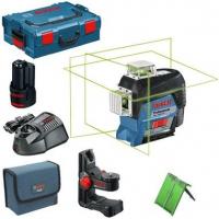 Линейный лазерный нивелир Bosch GLL 3-80 CG+BM 1+L-Boxx (0601063T00)