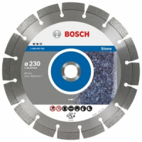 Bosch Круг алмазный по камню Bosch 230х22,23 Expert for Stone