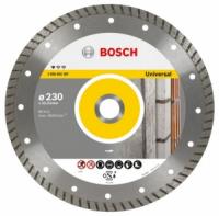 Bosch Круг алмазный универсальный Bosch 230х22,23 Professional Turbo