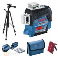 Линейный лазерный нивелир Bosch GLL 3-80 C +BT 150 (0601063R01)