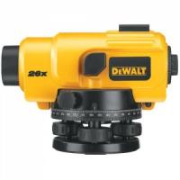 Оптический нивелир DeWalt DW096PK