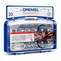 Dremel Комплект насадок SpeedClic Dremel (SC690)