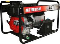 Бензиновый трехфазный генератор AGT 7003 LSDE