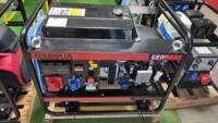 Бензиновый генератор Genmac Combiplus G18000HEO
