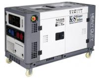 Дизельный генератор Konner&Sohnen KS 14-2DE 1/3 ATSR