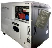 Дизельный генератор Hyundai DHY 8500SE-3