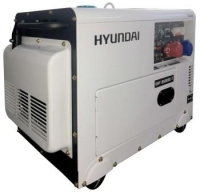 Дизельный генератор Hyundai DHY 8500SE-T