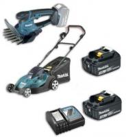 Набор инструментов Makita (DLM380Z, DUM604Z + 2 аккумуляторы и зарядное устройство) DLXMUALAWN
