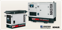 Газовый генератор Genmac Whisper RG10000KSA