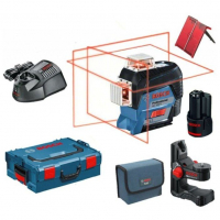 Линейный лазерный нивелир Bosch GLL 3-80 C+BM 1+L-Boxx (0601063R02)