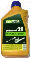 Масло Iron Angel Master Synt 2T 1л